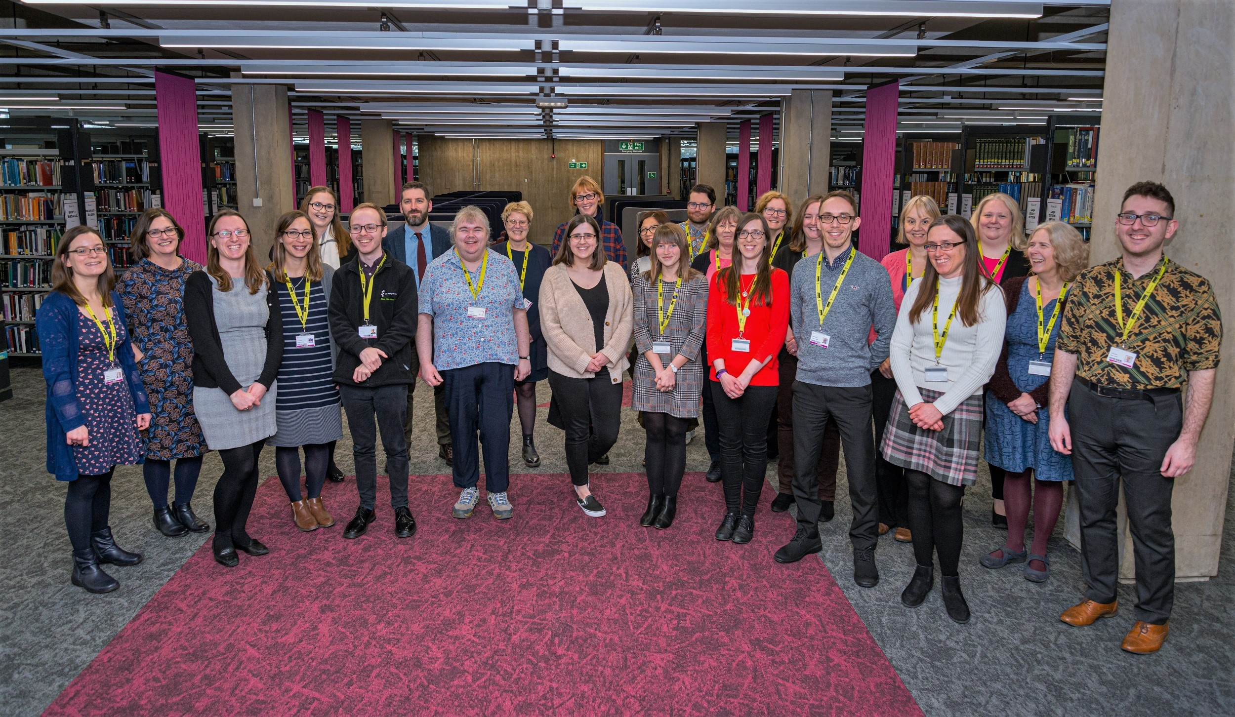 University of Essex Library Services Staff Photo