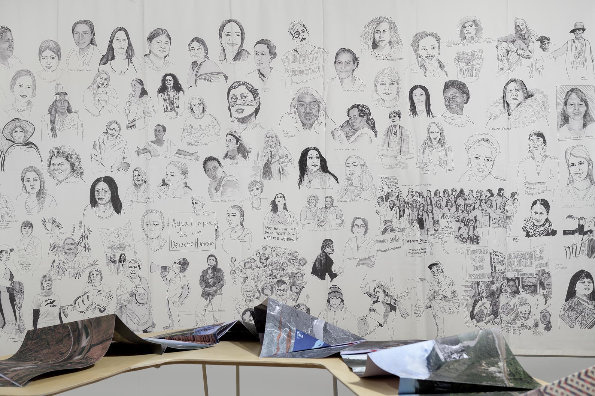Carolina Caycedo 'My Feminine Lineage of Environmental Struggle' (2018)