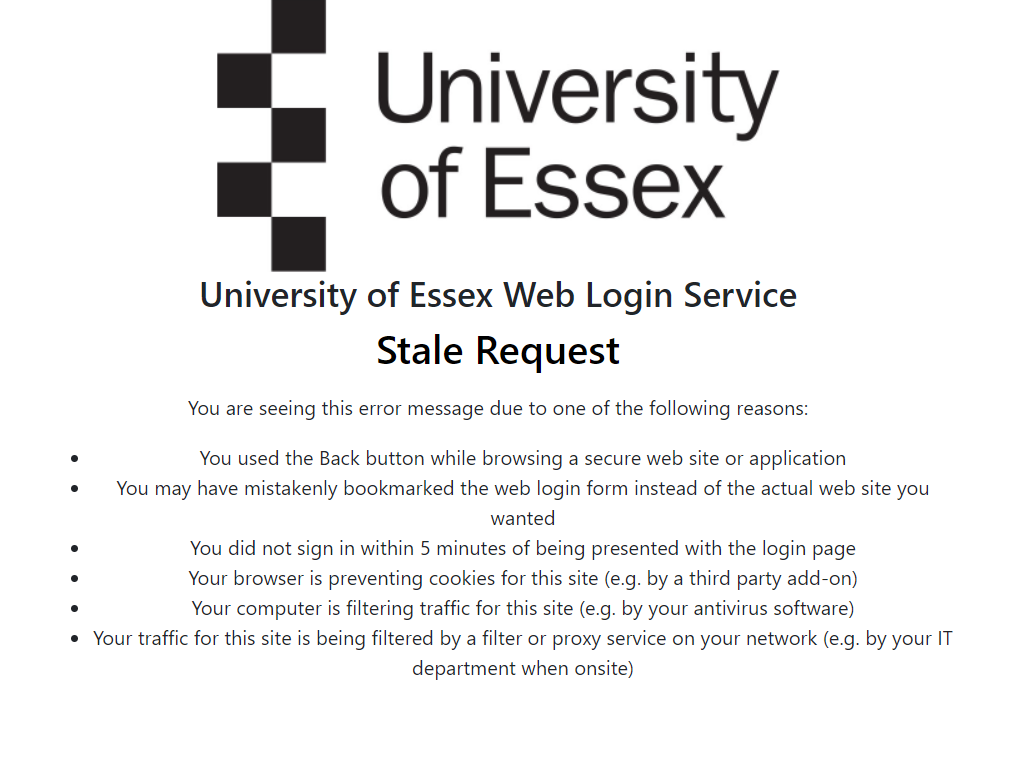 Stale request browser image