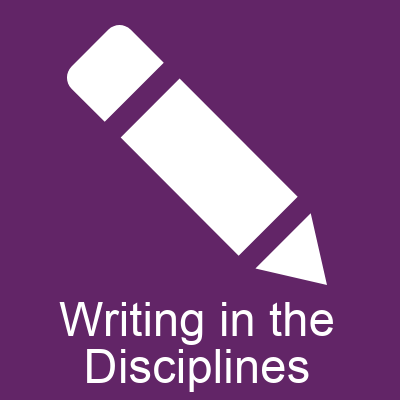 Writing in the Disciplines button
