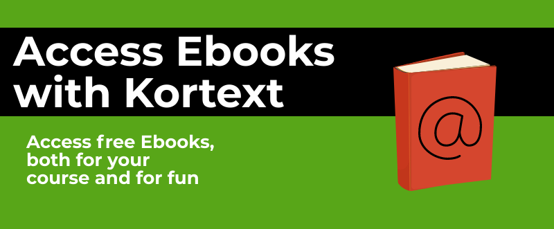 Access Ebook with Kortext
