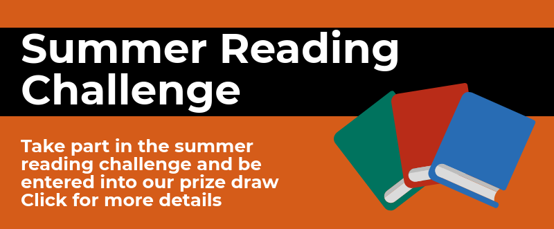 Summer Reading Challenge 2019 - Read five books for your chance to win a £20 Amazon gift voucher