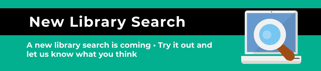 New library search - try out the new library search