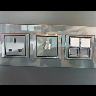 plugs inside the hush pods