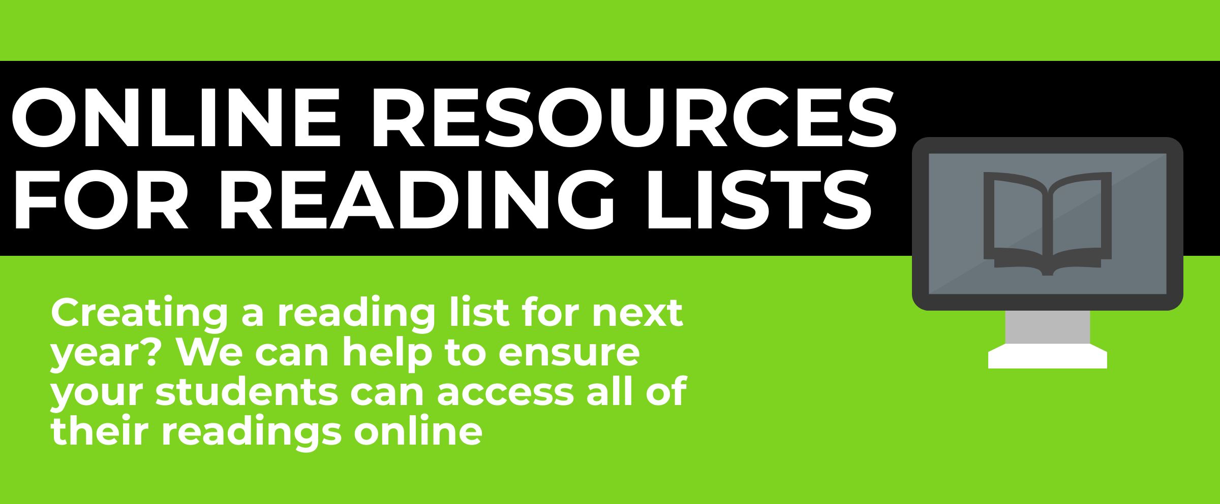 online resources for reading lists