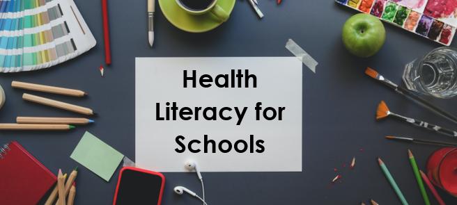 Health Literacy for Schools