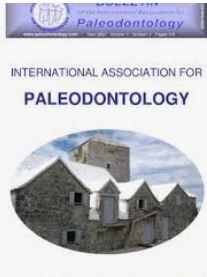 Bulletin of the International association for paleodontology.ÖPPEN TILLGÅNG