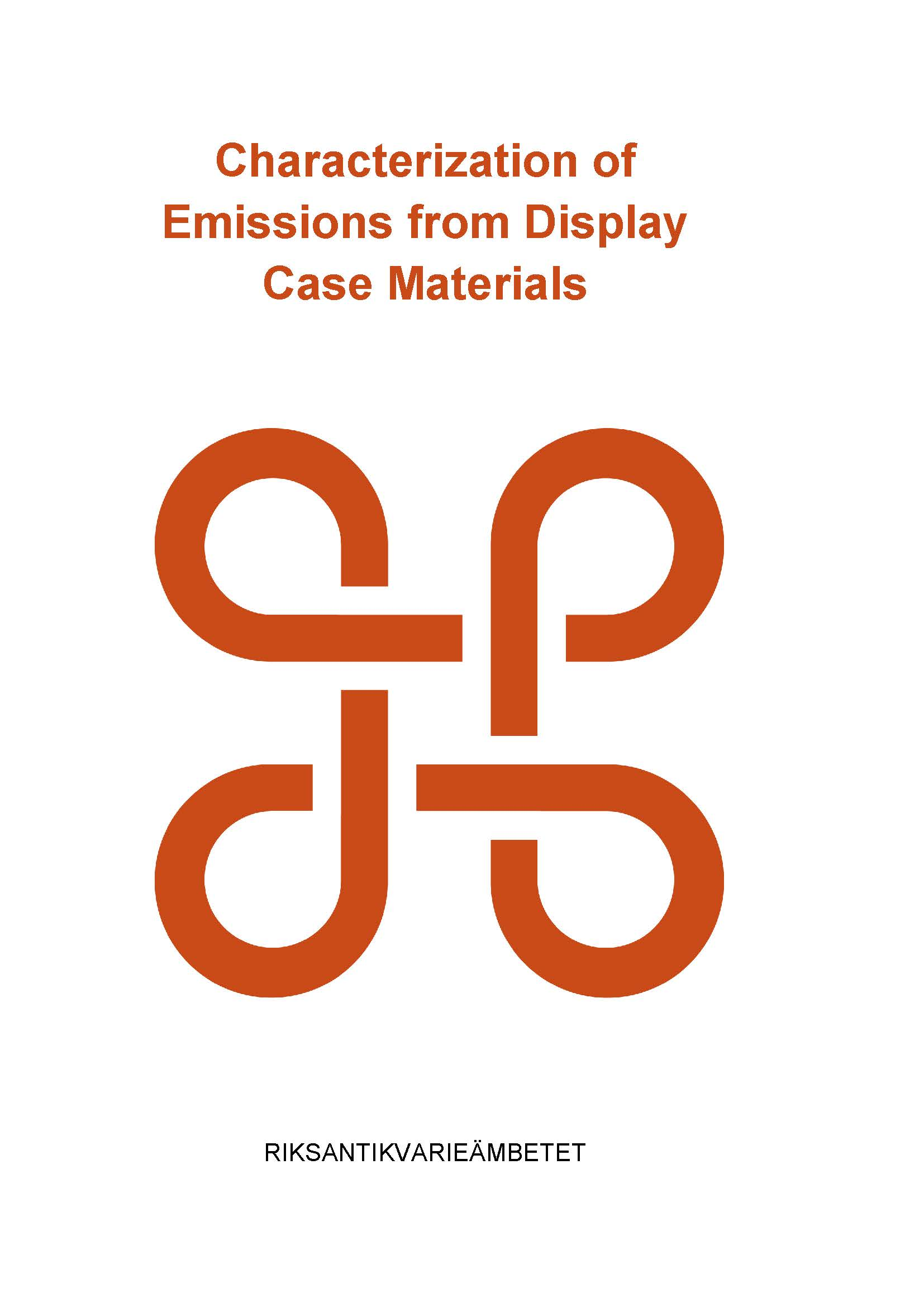 Characterization of Emissions from Display Case Materials