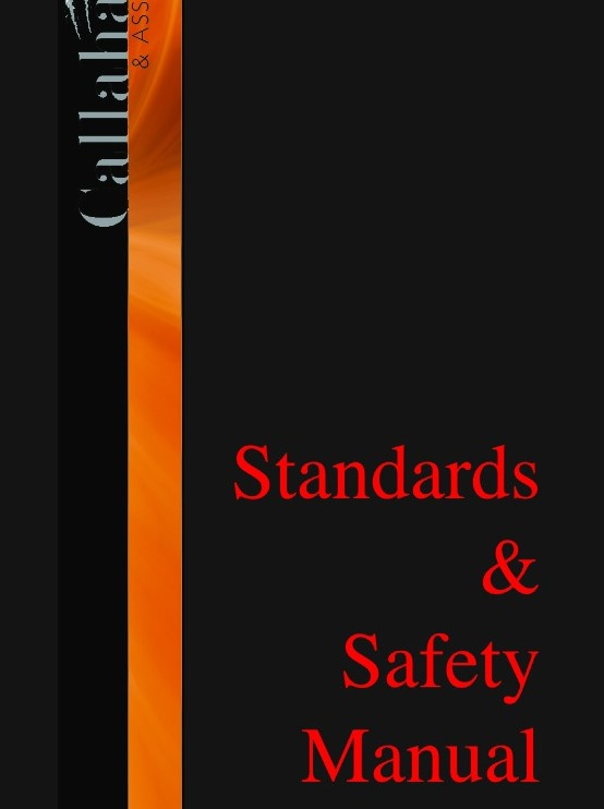 Callahan art and Associates Standards and Safety Manual, 2009