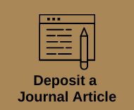 Link to deposit a journal article on Newman intranet - this opens a PDF document