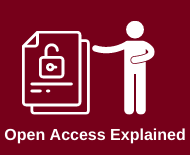 Link to open access explained library webapge
