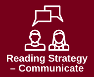 Link to communicating reading strategies library webpage