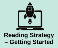 Link to reading strategies - getting started library webpage
