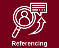 Link to library referencing webpage