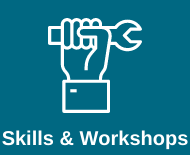 Link to skills and workshops library webpage