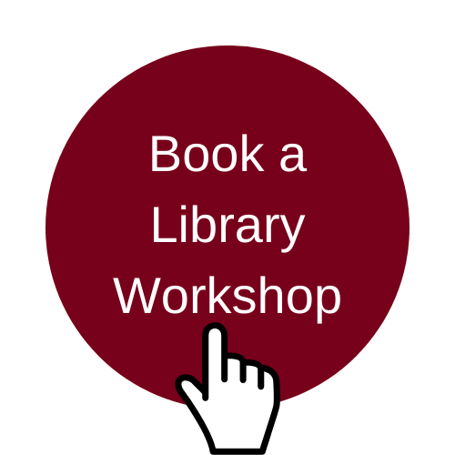 Image indicating to click image to book a library workshop