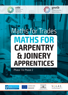 Maths for Carpentry and Joinery workbook thumbnail