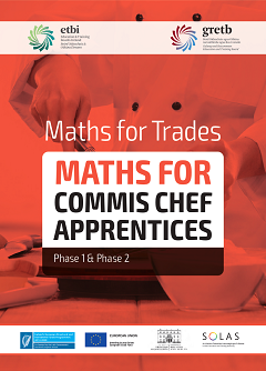 Maths for Commis Chefs workbook thumbnail