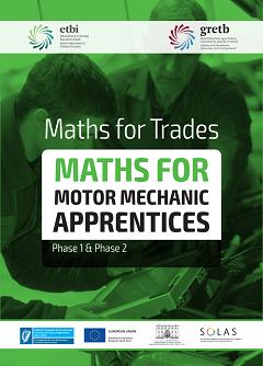 Maths for Motor Mechanics workbook thumbnail
