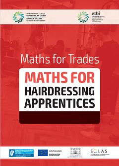 Maths for Hairdressing workbook thumbnail