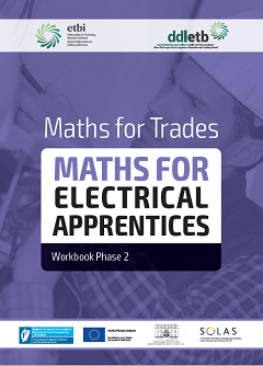Maths for Electrical Apprentices Phase 2 workbook thumbnail