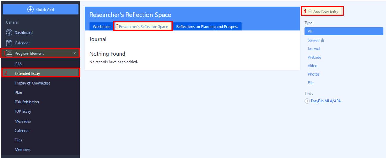 ManageBac screenshot