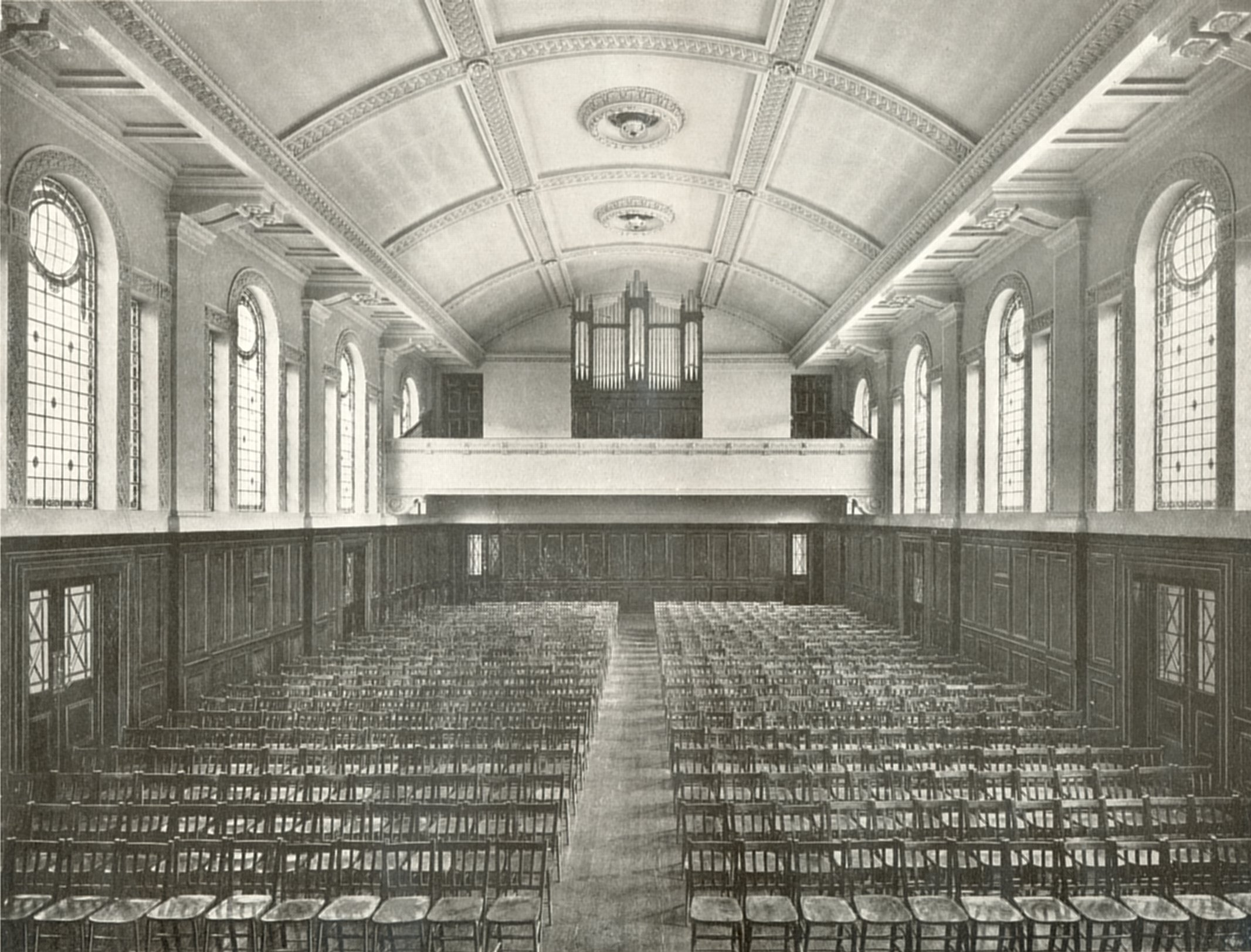 The Great Hall, circa 1913