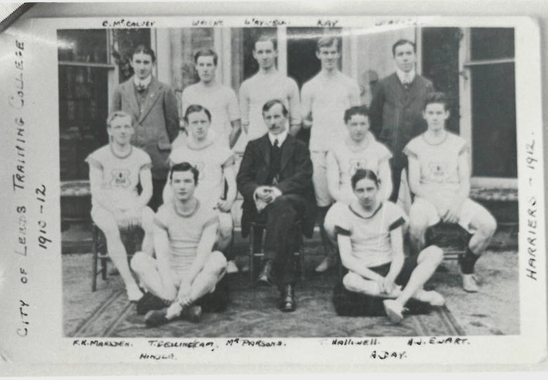 CLTC Harrier team 1912
