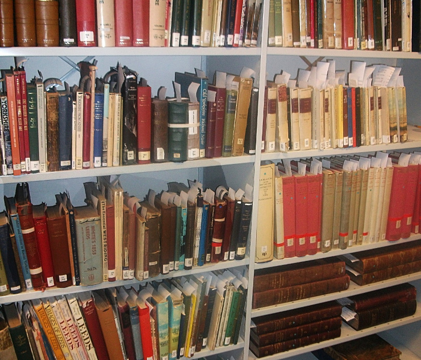 Collection of books from Leeds Beckett University archive