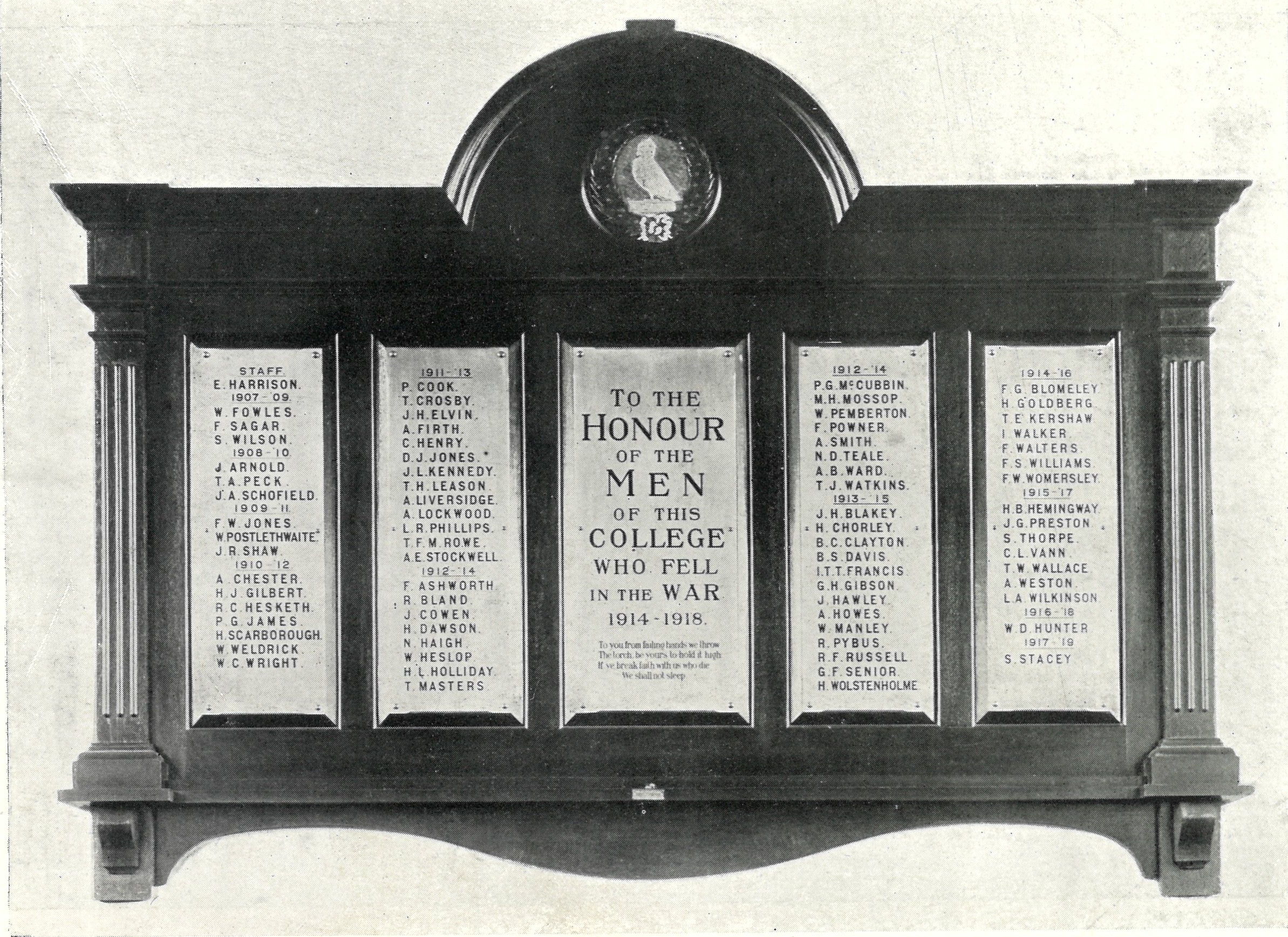 The Original War Memorial