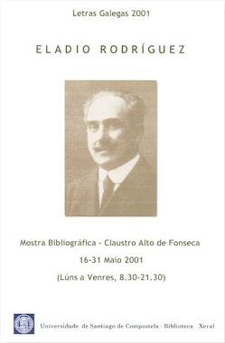 Letras Galegas 2001 - Cartel Mostra Bibliográfica