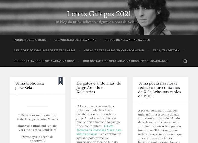 Blog Letras Galegas 2021