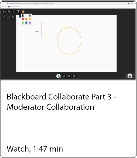 Moderator collaboration