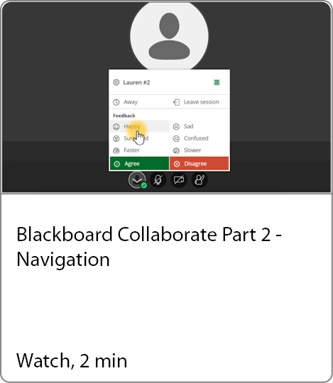 Navigating in Collaborate