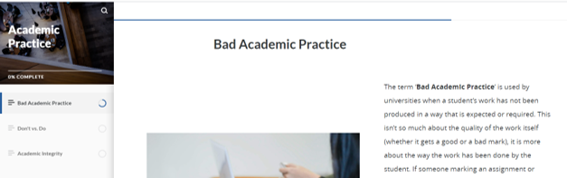 Academic Practice Explained
