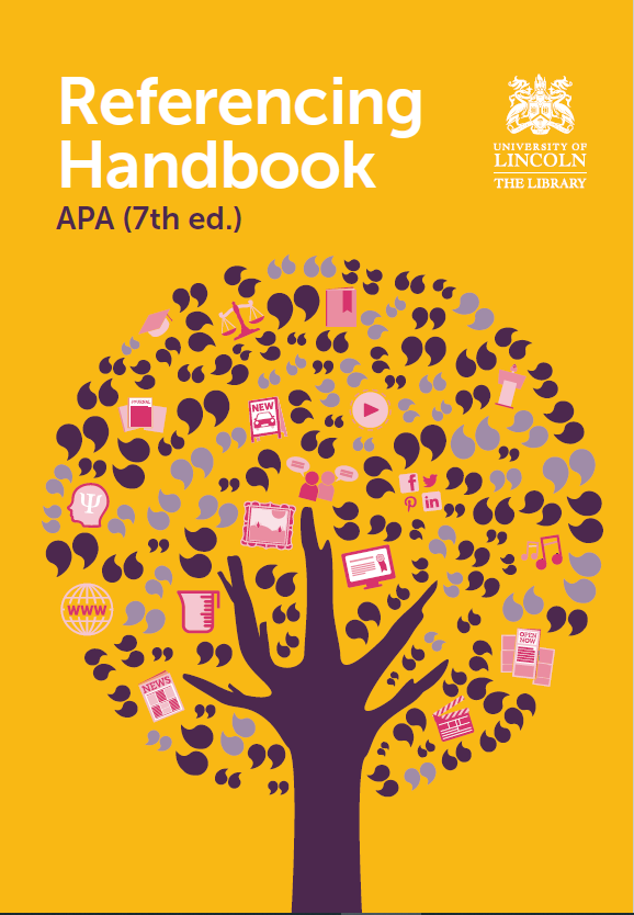 APA 7th edition referencing handbook cover