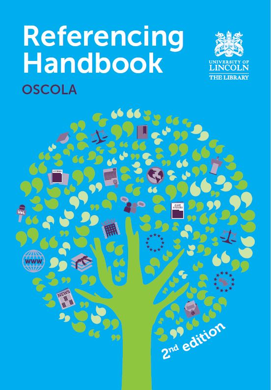 OSCOLA Referencing Handbook 2nd edition
